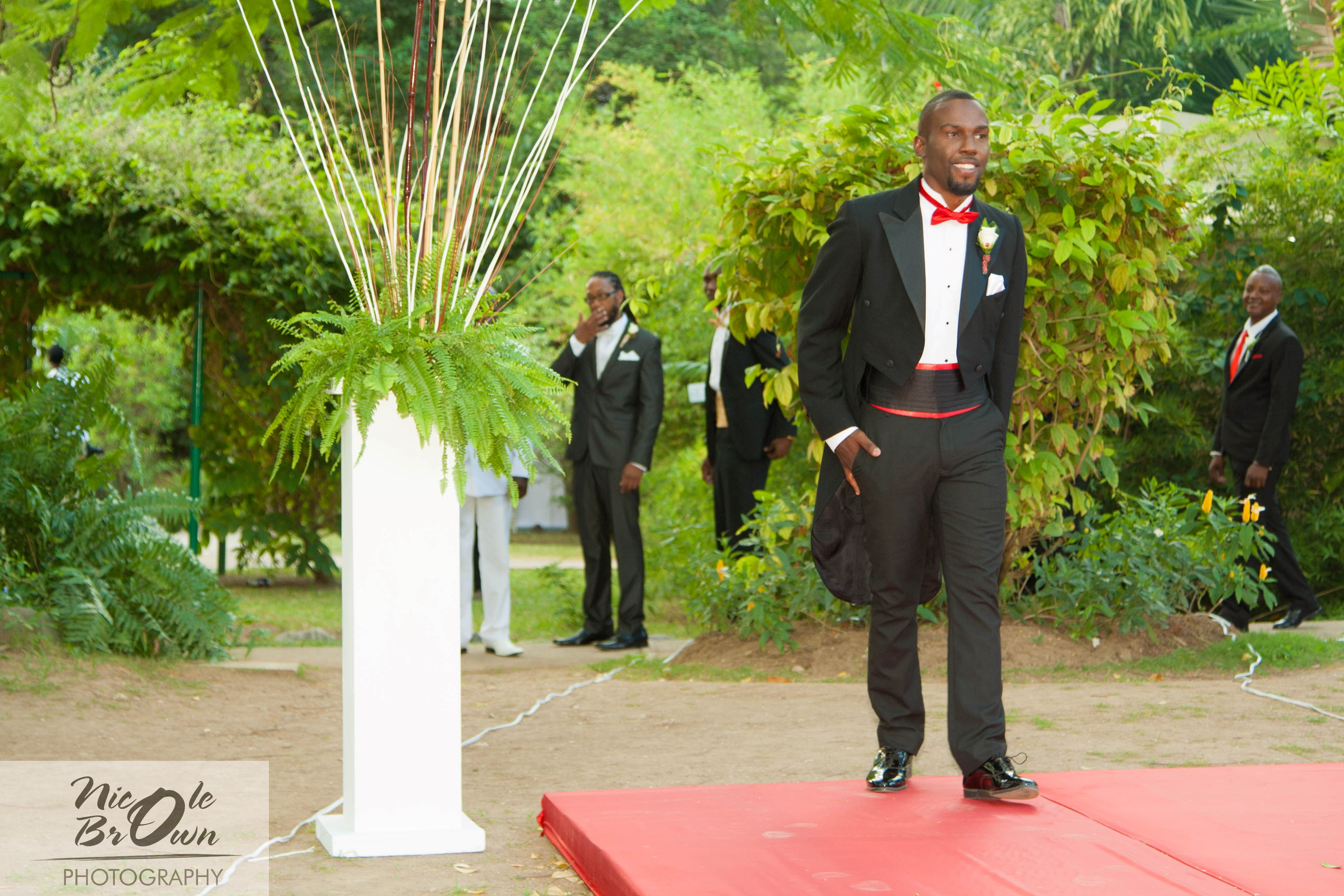 Candace U0026 Ramois  Married At Hope Gardens | Perfectdestinationweddingsjamaica