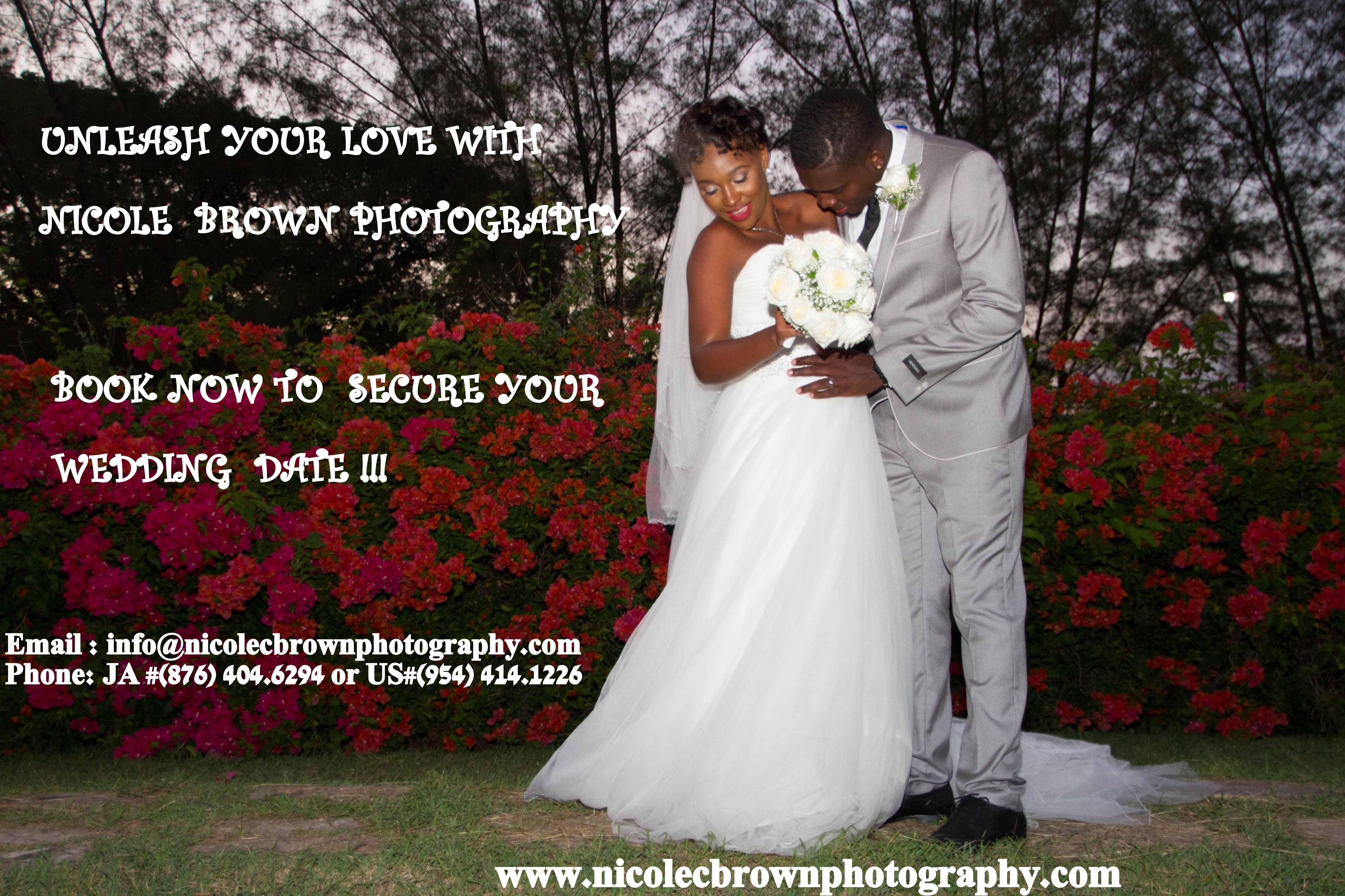 Book Your Upcoming Wedding With Nicole Brown Photography